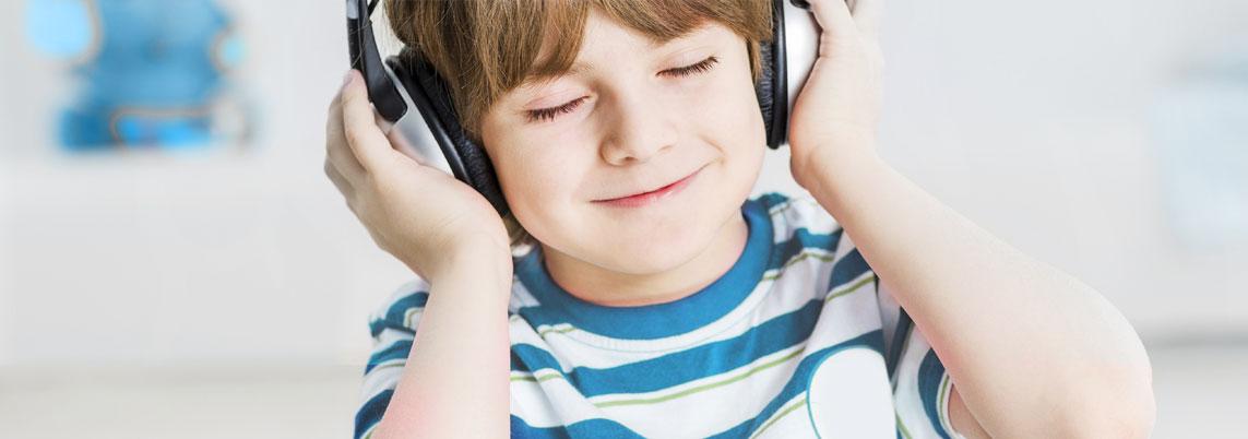 background image - happy child