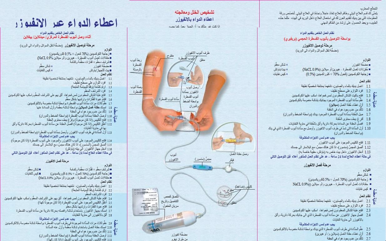 תדריך אינפיוזר ערבית פנימי